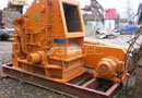 Ref.-Nr:1281 stationary impact crusher BHS, Type 0806. complete post crushing plant on sket, electric-motor, like new