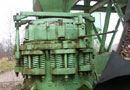 Ref.-Nr:1374 Stationary cone crusher from Nordberg, type 920 mm, output 50 m3/h.