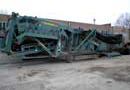Ref.-Nr:1497 Mobile screening unit Powerscreen Turbochieftain, type CHIEF1400, year of construction 2001, 2364 working hours, good condition.