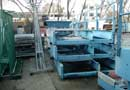 Ref.-Nr:920 2 belt conveyors, 46 m x 800 mm and 16 m x 800 mm, new, never used, rubber rolls and foot-bridge<br>
