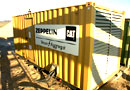 Ref.-Nr:1372 Caterpillar current aggregat 3412, 635 KVA, 480 KW, approx. 6.000 working hours, year of construction 1997.
