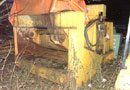 Ref.-Nr:1343 mobile car-press, 25 KW Motor, to press cars