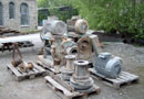 Ref.-Nr:1066 used water pump, 2 pc, each