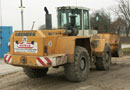 Ref.-Nr:1358 manufacturer Liebherr, wheelloader Type L551, year 95, ca. 10000 workinghours